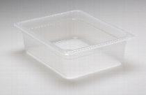 GN-Behälter 1/2-100 aus Polypropylen ohne Deckel