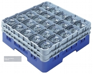 Camrack® Gläserspülkorb 25 / 21,6 softgrau