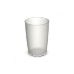 805 Trinkbecher 0,25 l natur-transparent