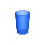 805 Trinkbecher 0,25 l blau-transparent