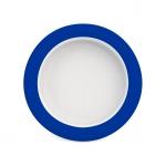 902 Teller mit Kipp-Trick Ø 20 cm blau