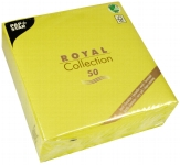 Servietten ROYAL Collection 40 cm x 40 cm limonengrün 50er Pack