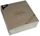 Servietten ROYAL Collection 40 cm x 40 cm grau 50er Pack