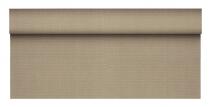 Tischdecke 25m x 1,18m grau, auf Roll, soft selection plus