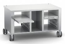 Untergestell mit Lenkrollen für iVario Typ 2-S