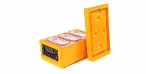 thermoport® 100 K orange mit Kühlplatte