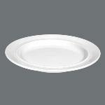 Teller flach 25,5 cm weiß, Vitalis