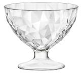 Eis-/Dessertschale Diamond transparent 36cl