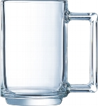 Bockbecher stapelbar 32cl transparent