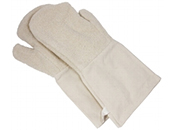 Topflappen und Handschuhe